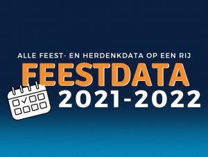 Feestdata 2021-2022